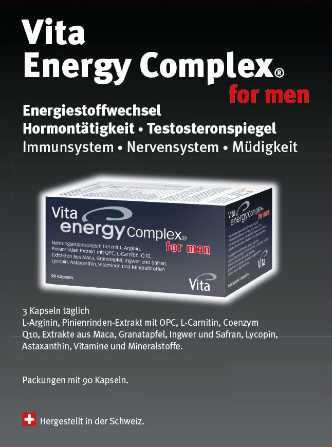 Vita Energy Complex® &for men