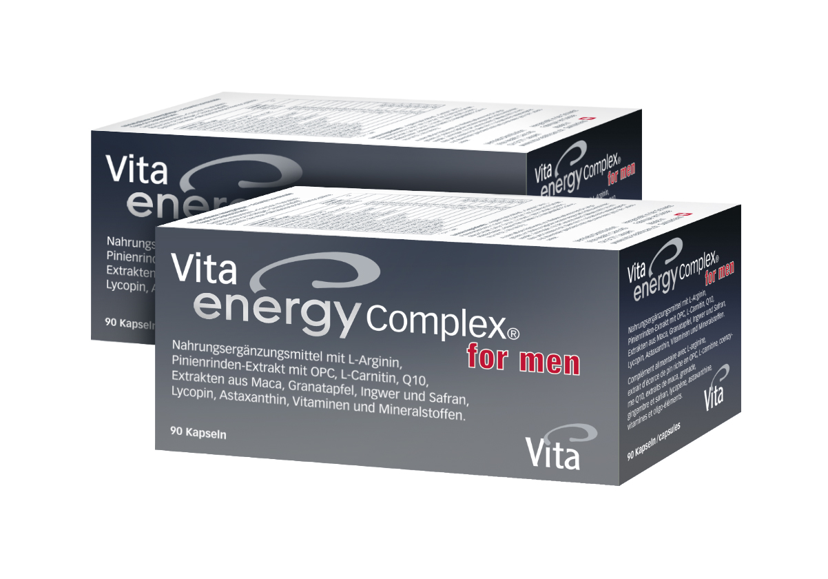 Vita Energy Complex® &for men, Doppelpack