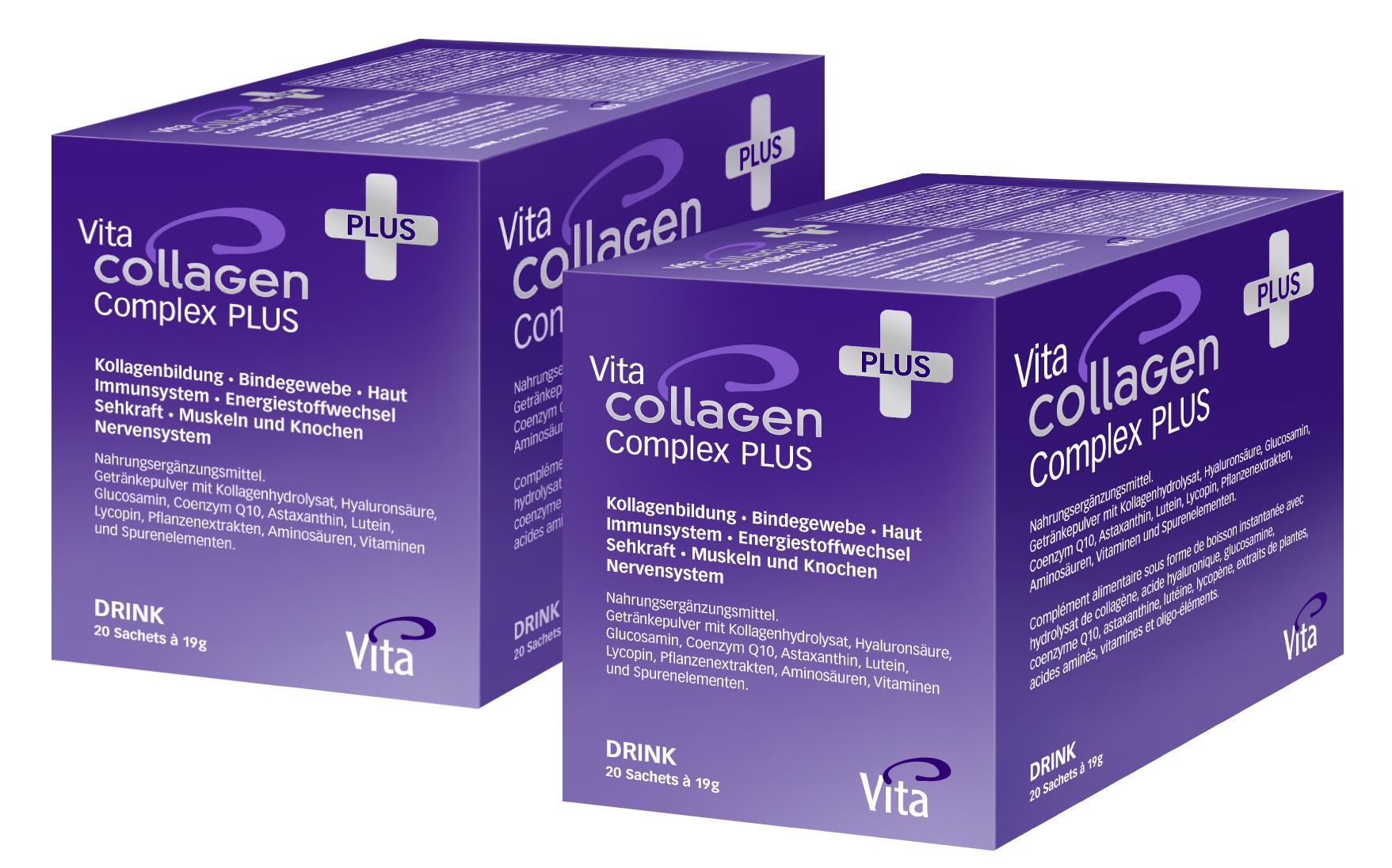 Vita Collagen Complex PLUS  &Doppelpack