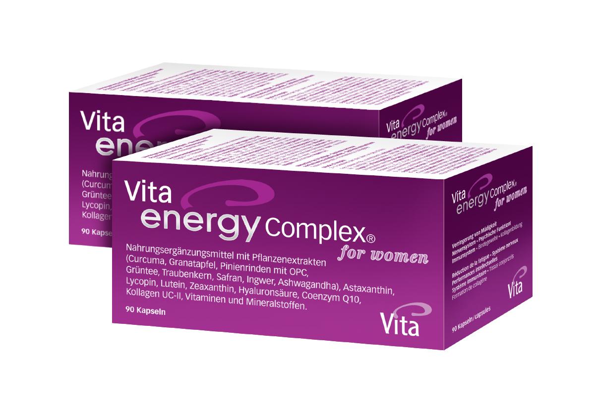 Vita Energy Complex® &for women Doppelpack